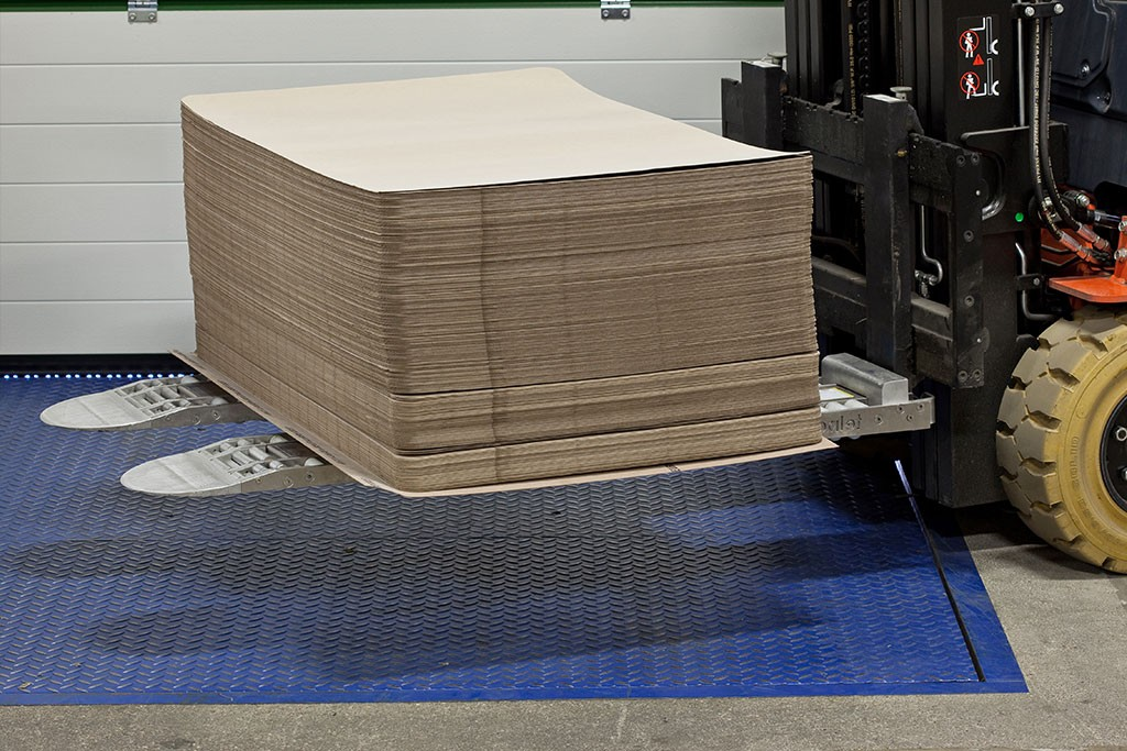 slip sheet palletizing solutions